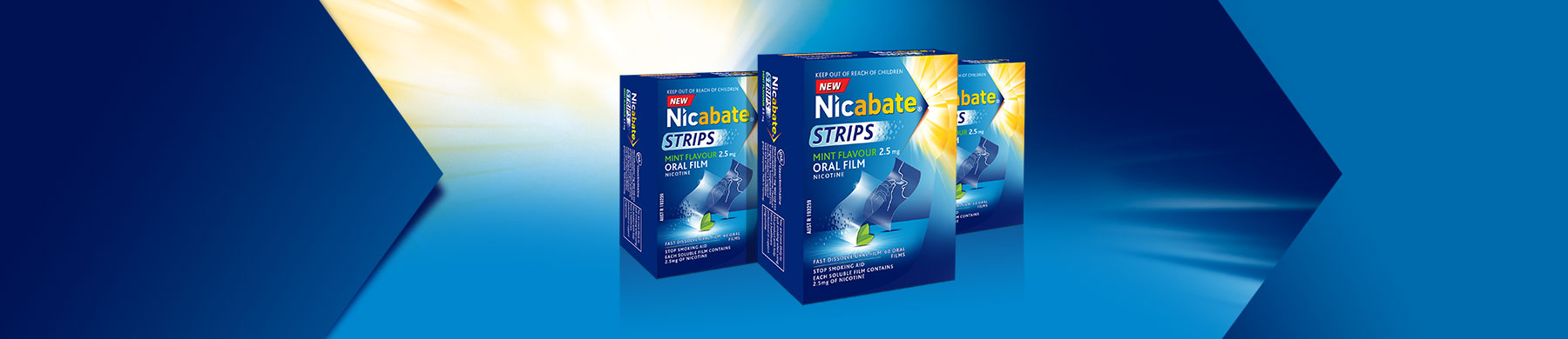 Nicabate Oral Strips Product Header