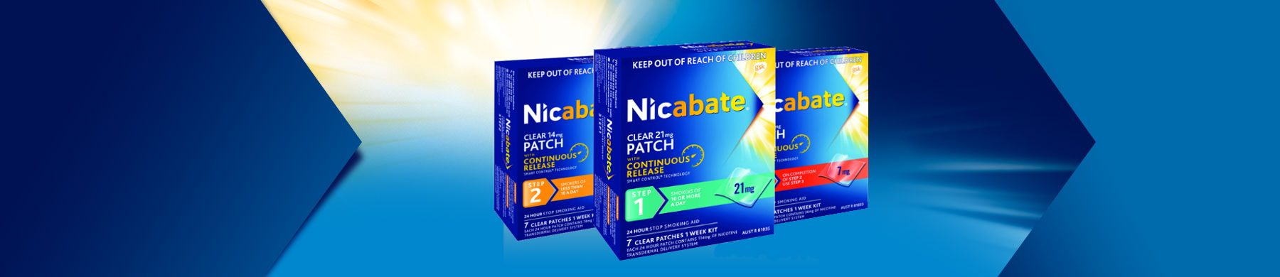 Nicabate Patches Product Header