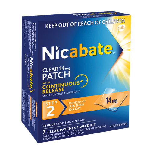 Nicabate Patch 14Mg