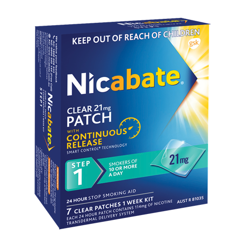 Nicabate Patch 21Mg