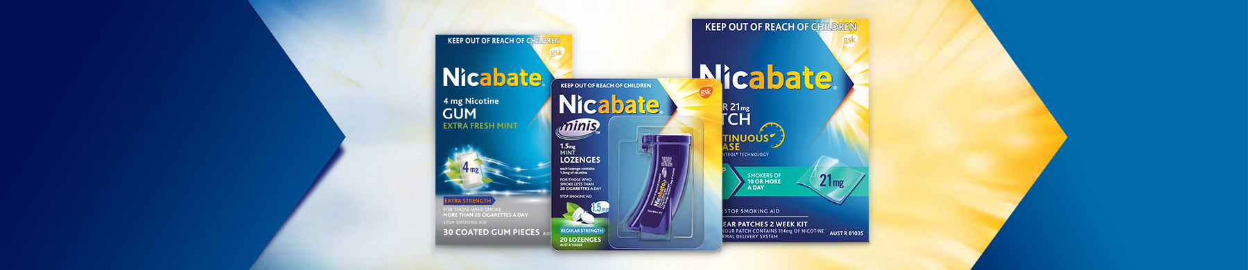 Nicabate Products