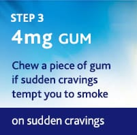 Gum Step 3 – 4Mg 3 Weeks