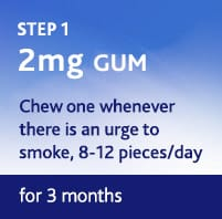 Gum Step 1 – 2Mg 6 Weeks
