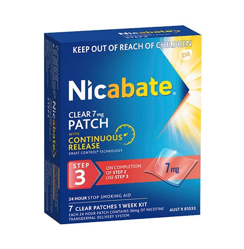 Nicabate Patch 7Mg